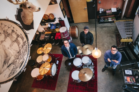 Revival Drum Shop in Portland, OR. Photo by Jason Quigley.