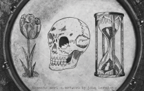 MEMENTO MORI/ Artwork by John Herndon