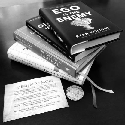 Inspiring books by Ryan Holiday