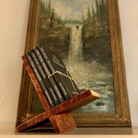 Handmade book display